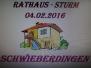 Rathaussturm Schwieberdingen